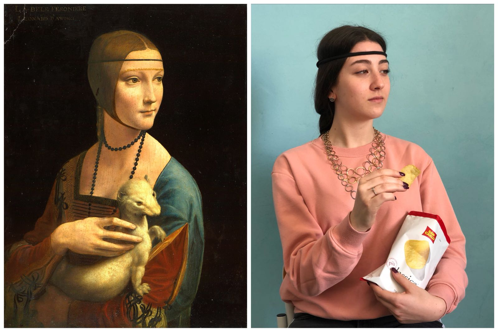Lady with an Ermine L.DaVinci